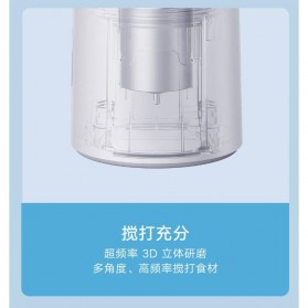 Xiaomi Mijia Blender Buah Portable Mini Juicer Mixer - White - 9