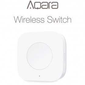 Xiaomi Aqara Smart Wireless Switch Tombol Serbaguna - WXKG12LM - White
