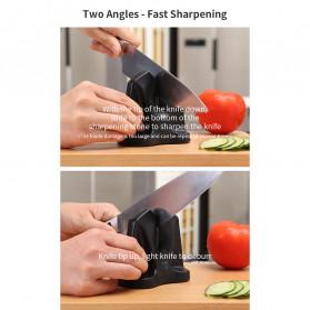 Xiaomi Mijia Huohou Pengasah Pisau Knife Sharpener Whetstone Tungsten Steel - HU0034 - Black - 10
