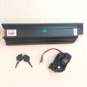 Baterai Replacement Sepeda Listrik Xiaomi HIMO C20 36V10aH - Black - 3