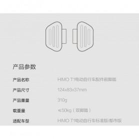 Xiaomi Rear Pedal Sepeda for Xiaomi Himo T1 - Black - 6