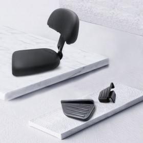 Xiaomi Kursi Belakang Sepeda Back Cushion Backrest + Rear Pedal for Xiaomi Himo T1 - Black