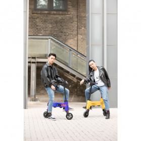 Xiaomi HIMO Transformer Skuter Elektrik Lipat Mini Smart Moped - H1 - Yellow - 6