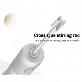 Xiaomi Deerma Egg Beater Mixer Telur Foamer Stirrer Milk Frother - JB01 - White - 10
