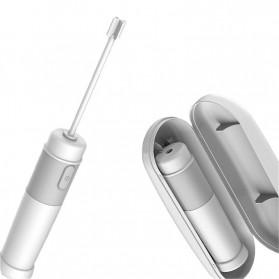 Xiaomi Deerma Egg Beater Mixer Telur Foamer Stirrer Milk Frother - JB01 - White - 8