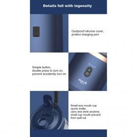 Xiaomi Deerma Blender Buah Wireless Portable Juicer 400ML - DEM-NU05 - Navy Blue - 5