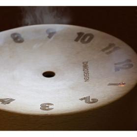 Xiaomi Bela Design Wood Alarm Clock Jam Alarm Kayu About Time - TC1817 - Brown - 4