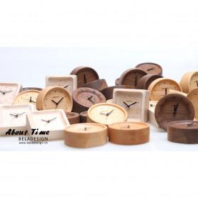 Xiaomi Bela Design Wood Alarm Clock Jam Alarm Kayu About Time - TC1817 - Brown - 6