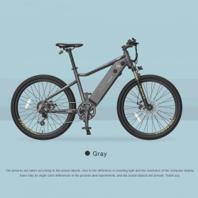 Xiaomi HIMO C26 Sepeda Gunung Elektrik Smart Moped Bicycle 250W 80KM - Gray