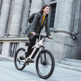 Xiaomi HIMO C26 Sepeda Gunung Elektrik Smart Moped Bicycle 250W 80KM - Gray - 5