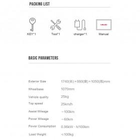 Xiaomi HIMO C26 Sepeda Gunung Elektrik Smart Moped Bicycle 250W 80KM - Gray - 8