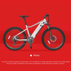 Xiaomi HIMO C26 Sepeda Gunung Elektrik Smart Moped Bicycle 250W 80KM - White
