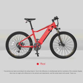 Xiaomi HIMO C26 Sepeda Gunung Elektrik Smart Moped Bicycle 250W 80KM - Red