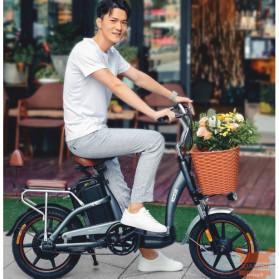 Xiaomi HIMO C16 City Bike Sepeda Elektrik Smart Moped 250W - Gray - 2