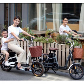 Xiaomi HIMO C16 City Bike Sepeda Elektrik Smart Moped 250W - Gray - 3