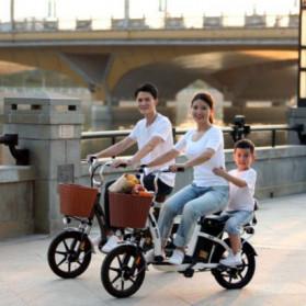Xiaomi HIMO C16 City Bike Sepeda Elektrik Smart Moped 250W - Gray - 4