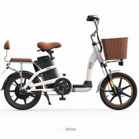 Xiaomi HIMO C16 City Bike Sepeda Elektrik Smart Moped 250W - White