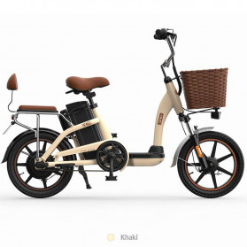 Xiaomi HIMO C16 City Bike Sepeda Elektrik Smart Moped 250W - Khaki