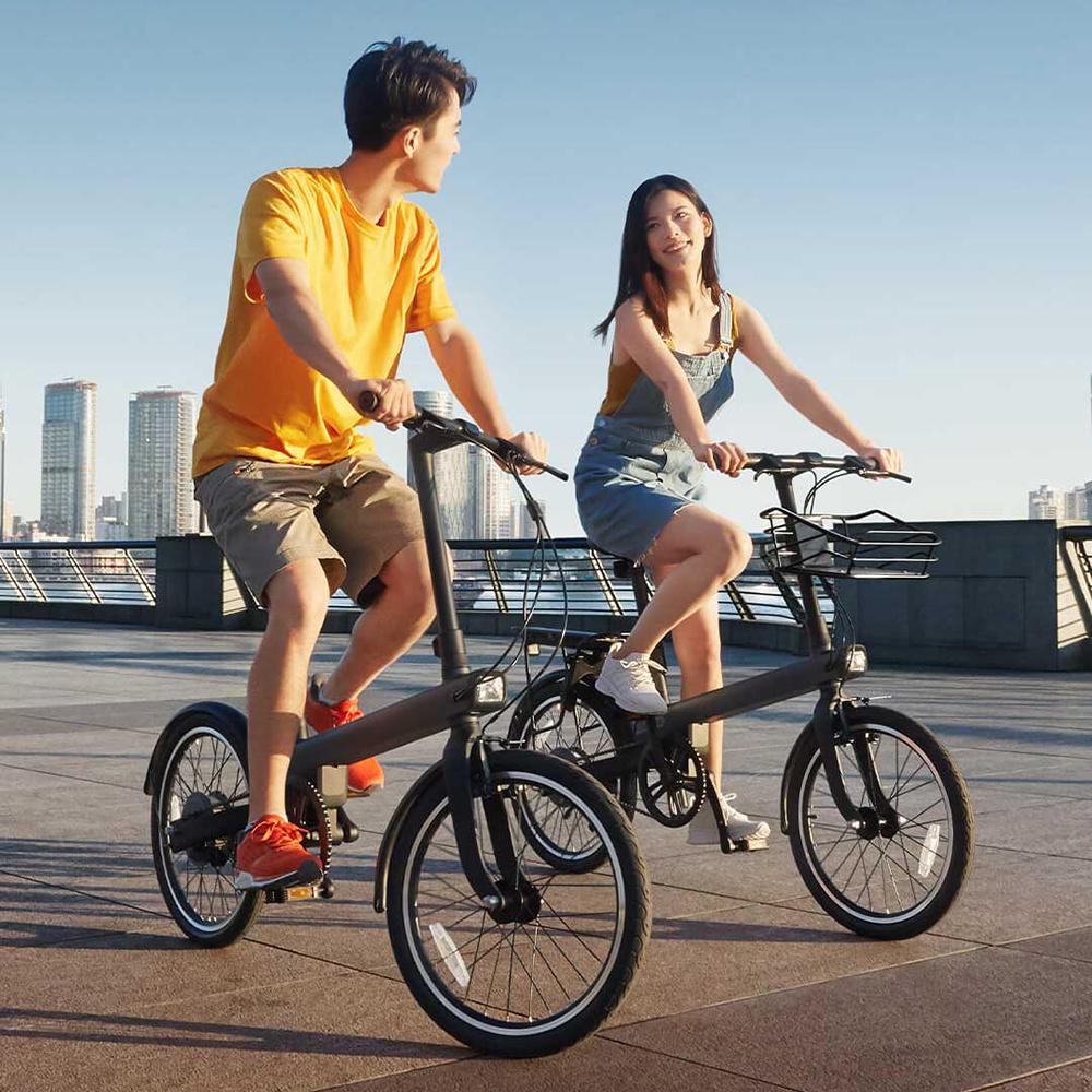 Xiaomi QiCycle EC1 Sepeda Elektrik Smart Bicycle 20 Inches