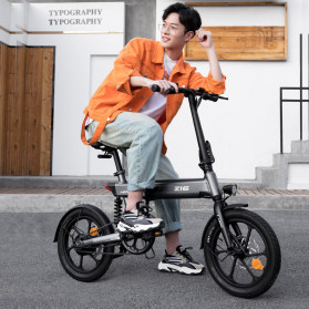 Xiaomi HIMO Z16 Sepeda Lipat Elektrik Smart Bicycle 36V250W 80KM - White - 3