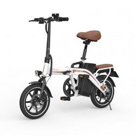 Xiaomi HIMO Z14 Sepeda Lipat Elektrik Smart Moped 350W 12Ah Standard Edition - Gray - 4