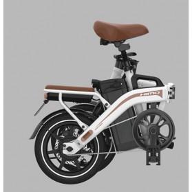 Xiaomi HIMO Z14 Sepeda Lipat Elektrik Smart Moped 350W 12Ah Standard Edition - Gray - 6