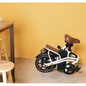 Xiaomi HIMO Z14 Sepeda Lipat Elektrik Smart Moped 350W 12Ah Standard Edition - Gray - 7