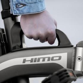 Xiaomi HIMO Z14 Sepeda Lipat Elektrik Smart Moped 350W 12Ah Standard Edition - Gray - 8