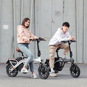 Xiaomi HIMO Z14 Sepeda Lipat Elektrik Smart Moped 350W 15Ah Urban Edition - Gun Black - 2