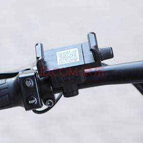 Xiaomi HIMO Z14 Sepeda Lipat Elektrik Smart Moped 350W 15Ah Urban Edition - Gun Black - 4