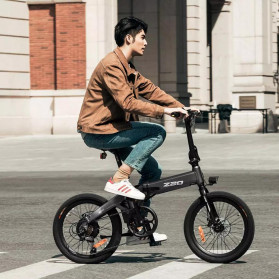 Xiaomi HIMO Z20 Sepeda Lipat Elektrik Smart Moped Bicycle 250W 80KM - Gray - 3