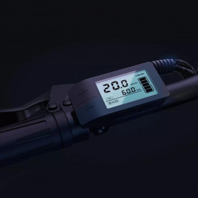 Xiaomi HIMO Z20 Sepeda Lipat Elektrik Smart Moped Bicycle 250W 80KM - Gray - 4