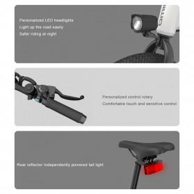 Xiaomi HIMO Z20 Sepeda Lipat Elektrik Smart Moped Bicycle 250W 80KM - Gray - 5