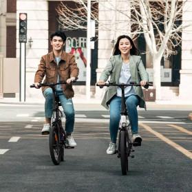 Xiaomi HIMO Z20 Sepeda Lipat Elektrik Smart Moped Bicycle 250W 80KM - White - 2