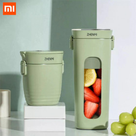 Xiaomi Zhenmi Blender Buah Portable Vacuum Juicer Cup 300ml - J1 - Green