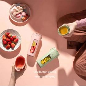 Xiaomi Zhenmi Botol Minum Blender Buah Portable Vacuum Juicer Cup 300ml - J1 - Green - 3