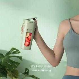 Xiaomi Zhenmi Botol Minum Blender Buah Portable Vacuum Juicer Cup 300ml - J1 - Green - 5