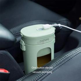 Xiaomi Zhenmi Botol Minum Blender Buah Portable Vacuum Juicer Cup 300ml - J1 - Green - 6