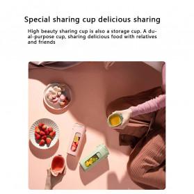 Xiaomi Zhenmi Botol Minum Blender Buah Portable Vacuum Juicer Cup 300ml - J1 - Green - 8