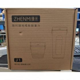 Xiaomi Zhenmi Botol Minum Blender Buah Portable Vacuum Juicer Cup 300ml - J1 - Green - 16