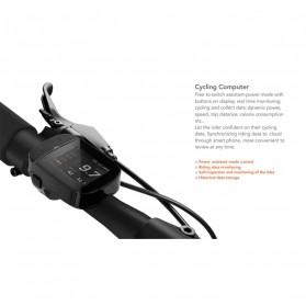 Xiaomi QiCycle EF1 Sepeda Elektrik Lipat Smart Bicycle (China Version) - TDR01Z - Black - 4