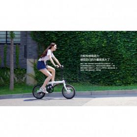 Xiaomi QiCycle EF1 Sepeda Elektrik Lipat Smart Bicycle (China Version) - TDR01Z - Black - 9