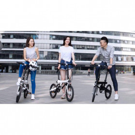 Xiaomi QiCycle EF1 Sepeda Elektrik Lipat Smart Bicycle (China Version) - TDR01Z - Black - 10