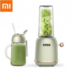 Xiaomi Deerma Blender Mixer Food Processor Mini Portable Juicer  500ML - DEM-GZ30 - Green