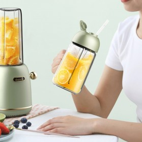 Xiaomi Deerma Blender Mixer Food Processor Mini Portable Juicer  500ML - DEM-GZ30 - Green - 3