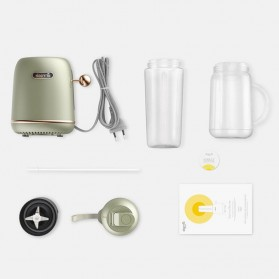 Xiaomi Deerma Blender Mixer Food Processor Mini Portable Juicer  500ML - DEM-GZ30 - Green - 5