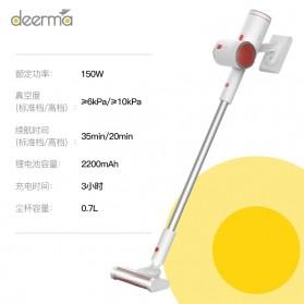 Xiaomi Deerma Alat Penyedot Debu Wireless Vacuum Cleaner Handheld - VC25 - White - 9