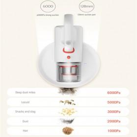 Xiaomi Deerma Vacuum Cleaner Penyedot Debu Wireless Sinar Ultraviolet Anti Tungau dan Debu - CM1900 - White - 3