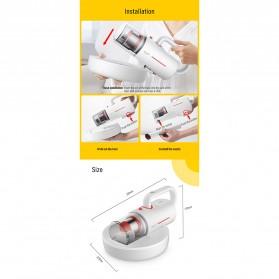 Xiaomi Deerma Vacuum Cleaner Penyedot Debu Wireless Sinar Ultraviolet Anti Tungau dan Debu - CM1900 - White - 8