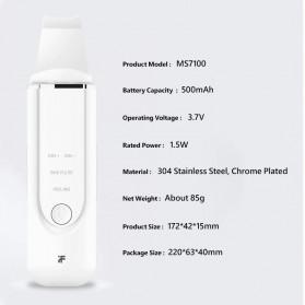Xiaomi InFace Pembersih Wajah Elektrik Ultrasonic Facial Skin Ion Acne Skin Cleanser - MS7100 - Black - 7